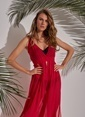 Morhipo Beach Şifon Elbise Kırmızı